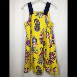 NWT Maeve Sunniva Yellow Floral Dress Pockets